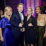 Gretchen Carlson, Ronan Farrow, Reese Witherspoon, and Kerry Washington