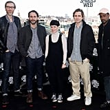 Stephen Merchant, Fede Álvarez, Claire Foy, Sverrir Gudnason, and Lakeith Stanfield.