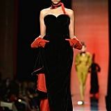 Imaan First Stepped Onto the Scene in Jean Paul Gaultier's Fall '13 Couture Show