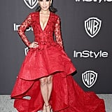 Fiona Xie at the 2019 Golden Globes Afterparty