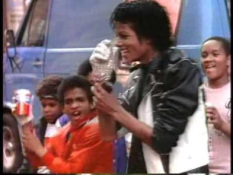 Michael Jackson's Pepsi Commercial