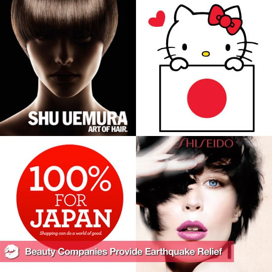 Beauty Companies Are Providing Earthquake Relief in Japan