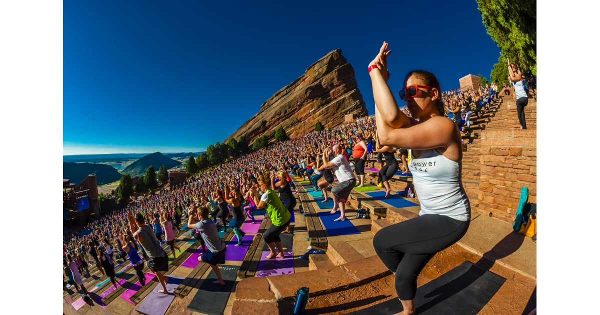 Yoga On The Rocks Our Favorite Healthy Picks For August Popsugar Fitness Photo 2
