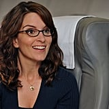 Tina Fey and her alter ego Liz Lemon have brown hair, a somewhat buttoned-up look, and specs — so it's no surprise that both the woman and the character pop up as having that sexy librarian look.