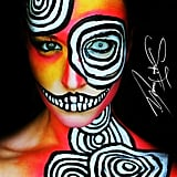 Neon Halloween Makeup Ideas
