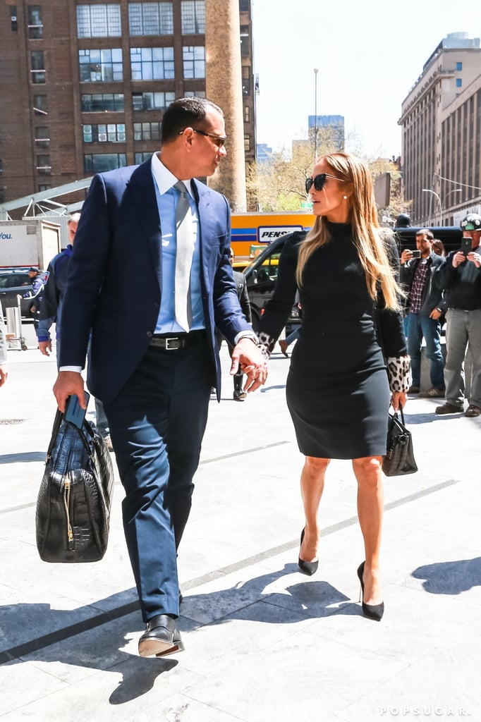 J Lo and ARod Carrying Matching Bags in NYC