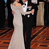 Mary and Frederik danced at the American-Scandinavian Foundation's Centennial Ball in New York in Oct. 2011.