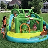 Bounce House with Water Slide and Air Blower