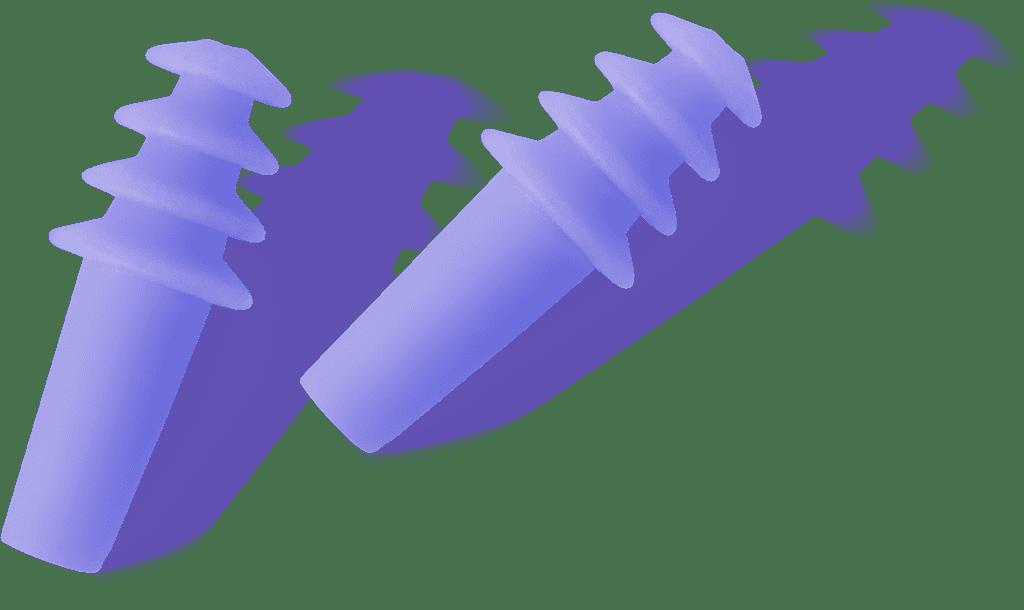 WeatherX Pressure Filtering Earplugs