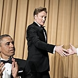 Conan took the stage.