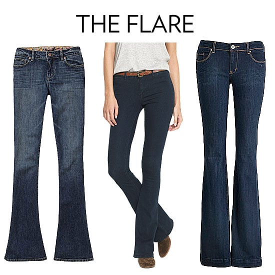 Flare/Bootcut Jeans | Best Fit Jeans For Your Body Type | POPSUGAR ...