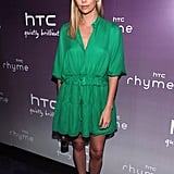 Charlize Theron at the launch of the new HTC Rhyme Android smartphone.