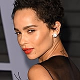 Zoë Kravitz With a Pixie Cut