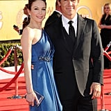 Diane Lane and Josh Brolin at the SAG Awards