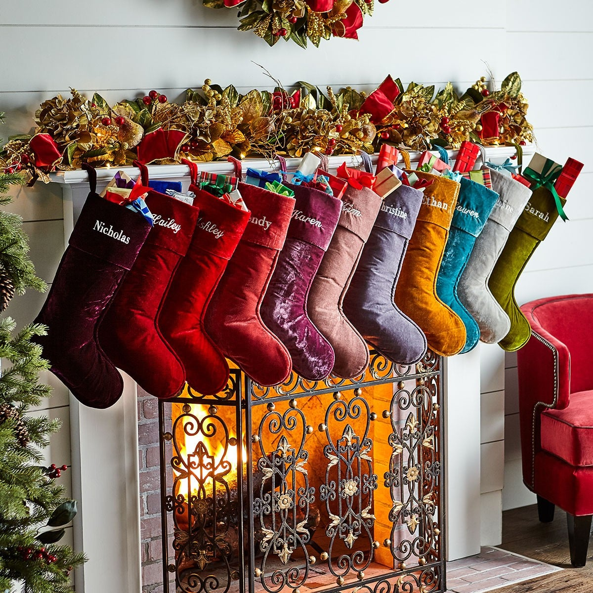 best personalized christmas stockings popsugar family