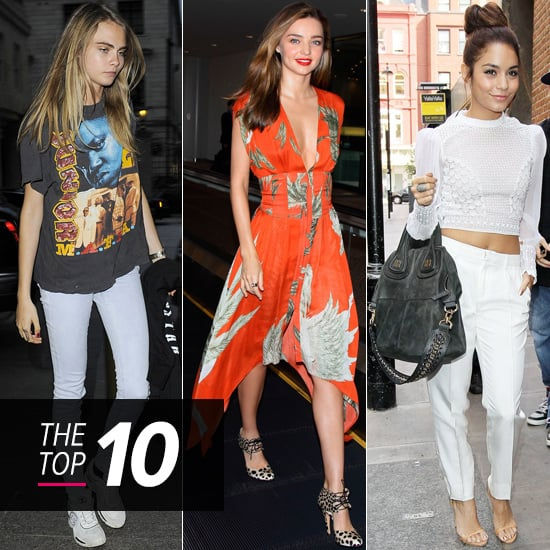 Top 10 Best Dressed Of The Week: Crop Tops, Tea Dresses & Cool Girls Rule