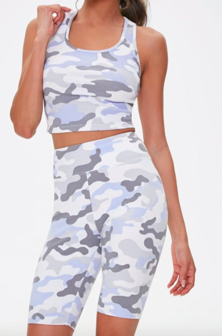 Active Camo Biker Shorts From Forever 21