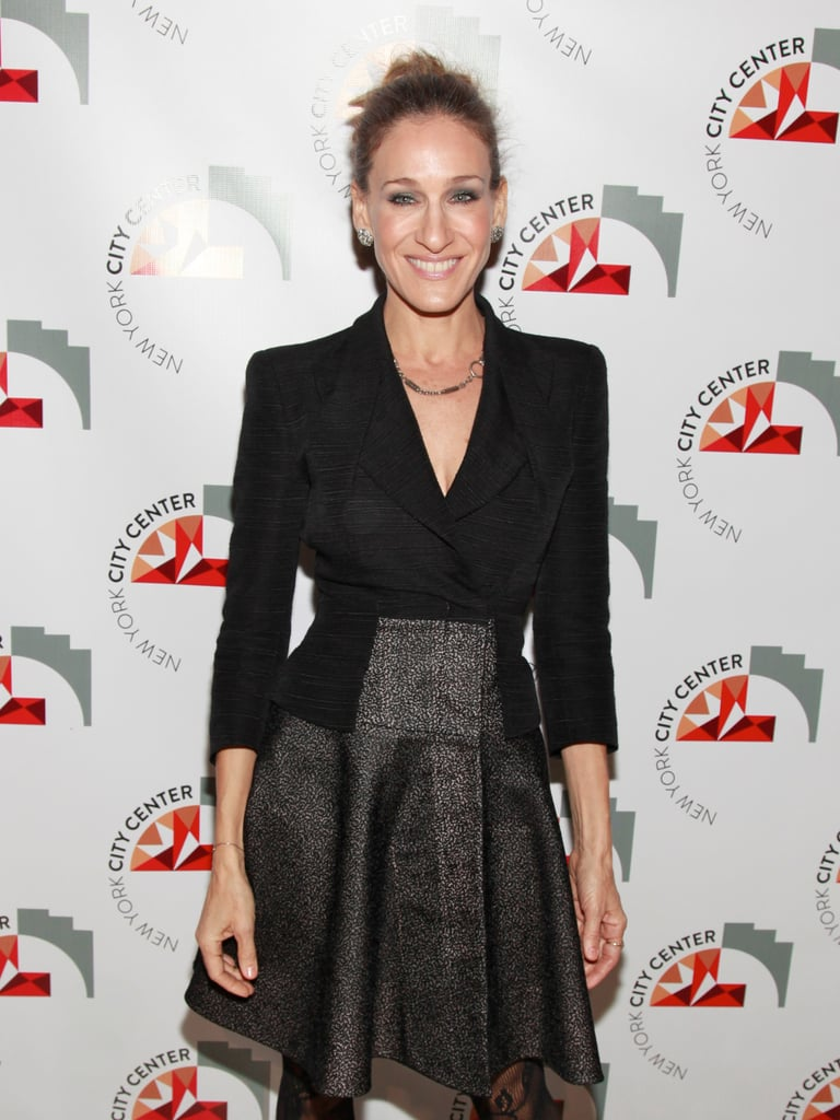 Sarah Jessica Parker smiled at a NYC event.