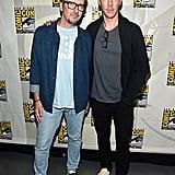 Pictured: Scott Derrickson and Benedict Cumberbatch at San Diego Comic-Con.