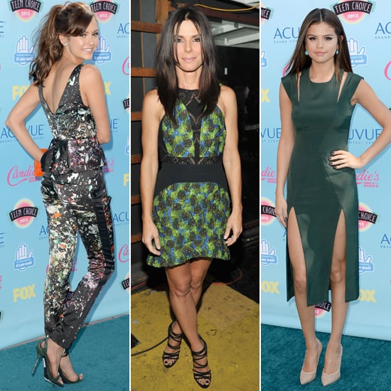 Teen Choice Awards Red Carpet Dresses 2013