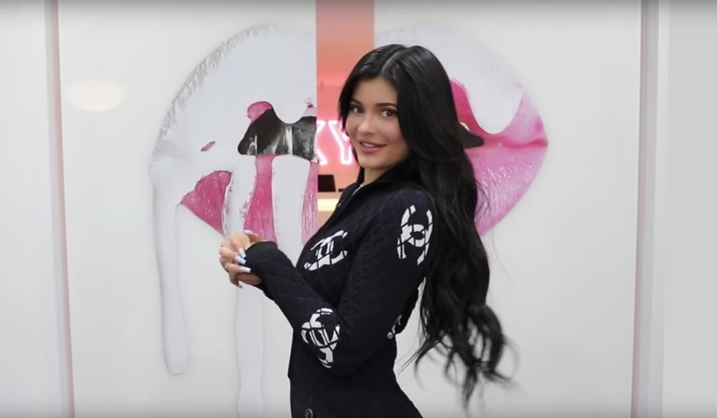 Kylie Jenner Gives a Tour of Her Glam Kylie Cosmetics Office