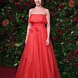 Ophelia Lovibond at the 65th Evening Standard Theatre Awards