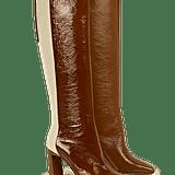 Wandler Isa Long Boot Tan Shades