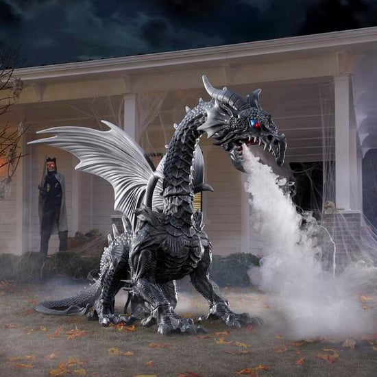 Home Depot Halloween Dragon