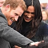 Prince Harry and Meghan Markle Get a Warm Scottish Welcome as They Arrive in Edinburgh