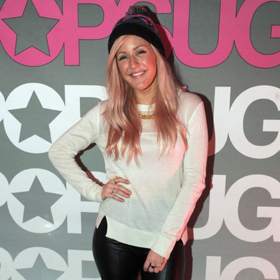 Ellie Goulding Wearing Knit Hats