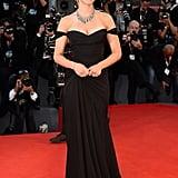 5. Scarlett Johansson in Versace at the Venice Film Festival