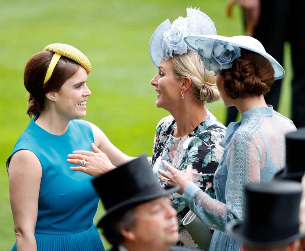 Princess Eugenie and Zara Tindall