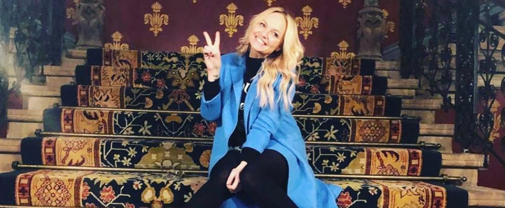 Emma Bunton Instagram Post of Spice Girls Music Video Stairs