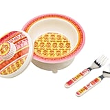 Sugarbooger's Princess Darjeeling covered bowl set ($24) sends the smallest diners on an exotic dinnertime adventure.