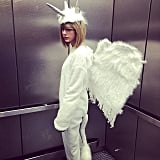 Taylor Swift's went all out with her Pegacorn look.