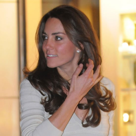 Kate Middleton Leaving Richard Ward Salon Pictures