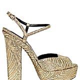 DSquared2 150MM Brocade Platform Sandals