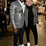 Dave Chappelle and Ellen DeGeneres at the 2020 Grammys