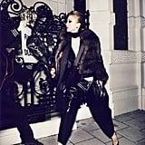 Pro-Fur in August Paris Vogue