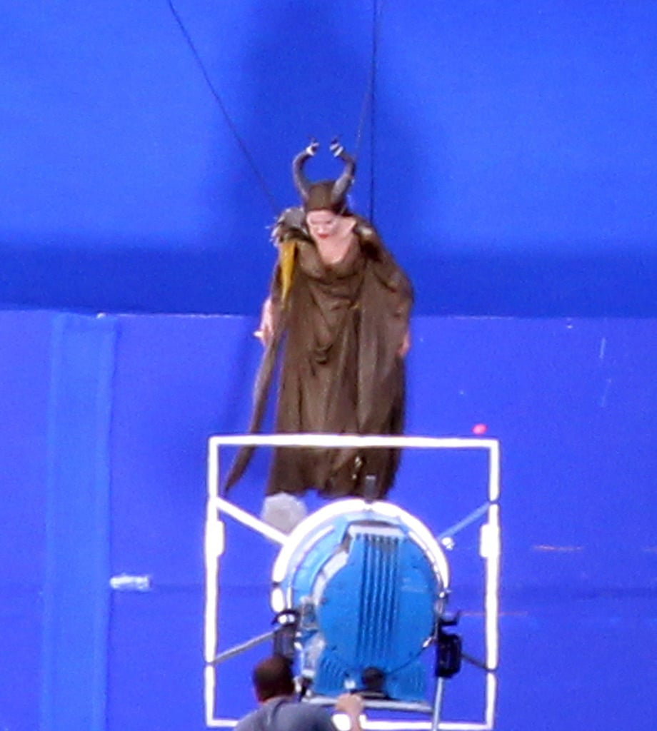 Angelina Jolie did stunts for Maleficent.