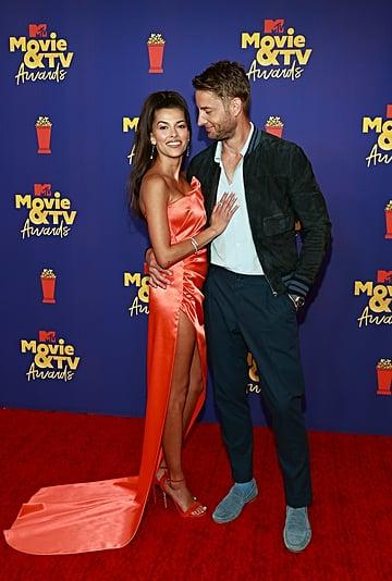 Justin Hartley and Sofia Pernas at MTV Movie and TV Awards