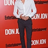 Adrien Brody ditched his jacket.