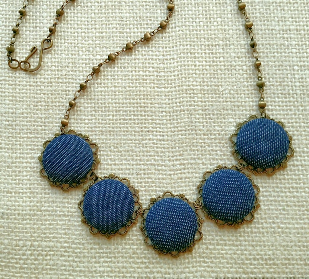 Denim Statement Necklaces