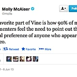 @molls wonders why sexual orientation is so important on Vine.