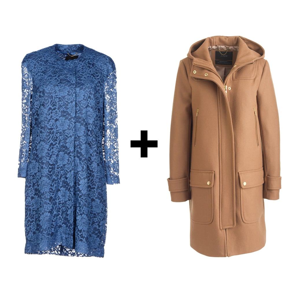 Ladylike Sheath and Duffel Coat
