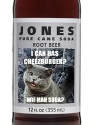 Jones Soda and LOL Cats Team Up to Create LOL Cats Soda