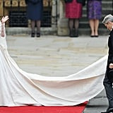 Kate Middleton's First Alexander McQueen Wedding Dress