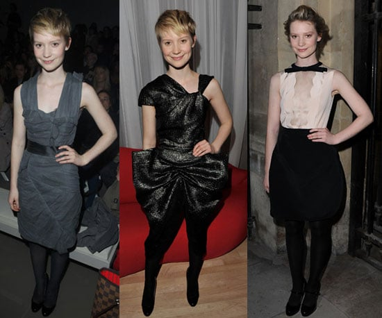 Mia Wasikowska's Style