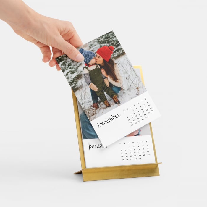 Artifact Uprising Brass Easel & Calendar