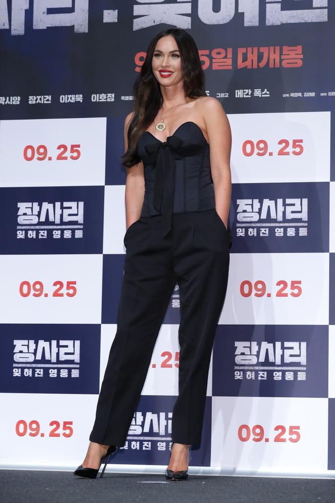 Megan Fox at Battle of Jangsari Press Conference in Seoul